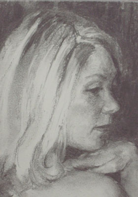 Portrait of artist Allison Woodroffe-Charlton
